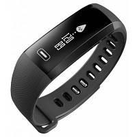 M2 Smart Bracelet с измерителем сердечного ритма с кровяным давлением Чёрный