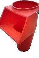 Приемный этажный рукав с комплектующими  (цепи, карабины)