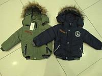 Зимняя куртка для мальчиков, рост 98, 104, 110