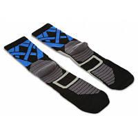 Пара STAR FROM AD49 спортивные носки сжатия для путешествие Чёрный