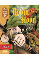 Primary Readers \level 6\ Robin Hood (with CD-ROM)