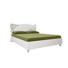 Ліжко Богема 1,6х2,0 м'яка спинка з каркасом Миро-Марк