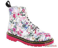 Ботинки с цветочным принтом для девочки (27 размер) Bartek 5904699448196 929d38bf1d4e1