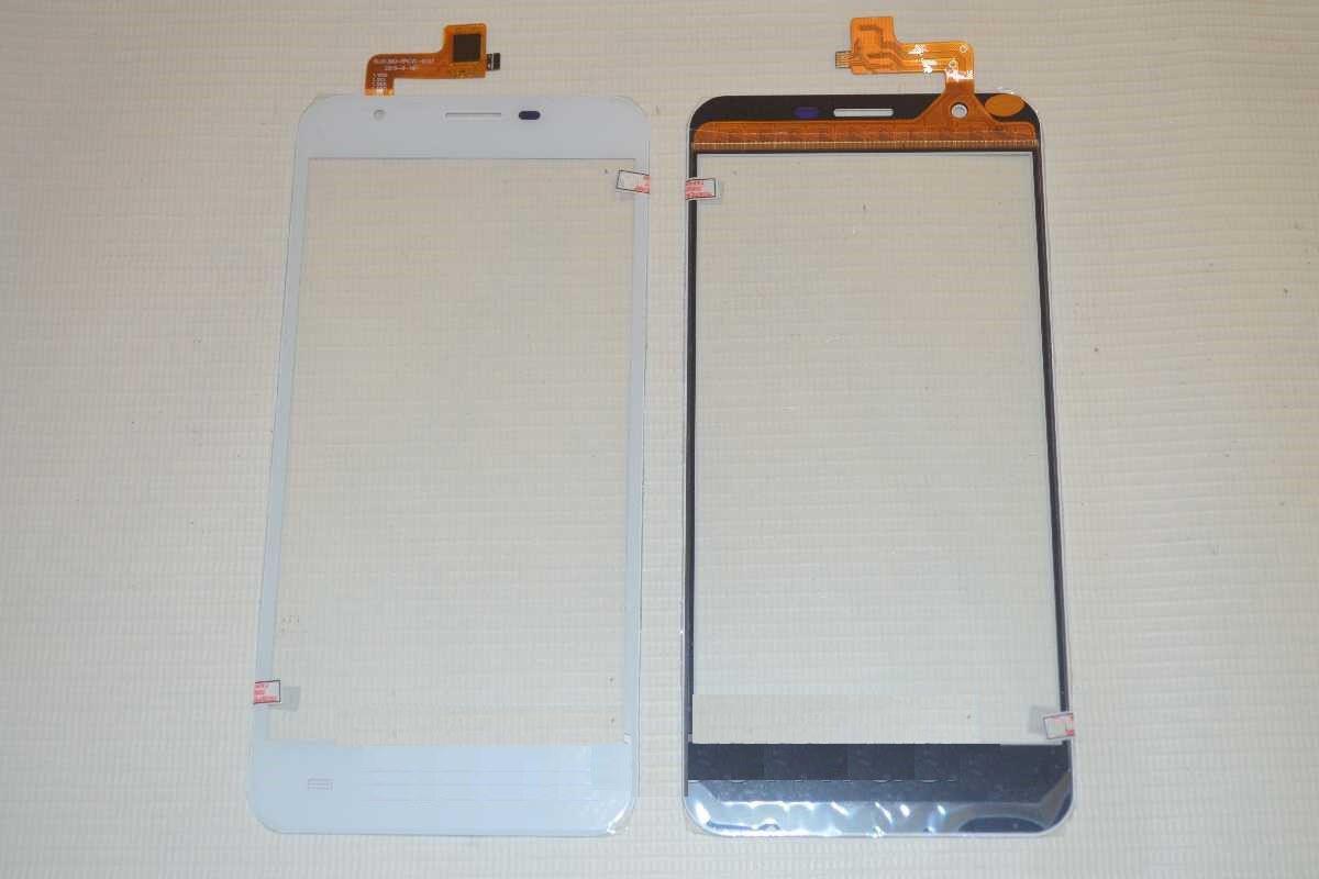 Сенсор (Touch screen) Bravis A551 Atlas белый