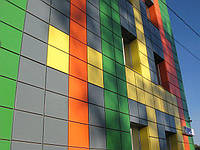 Кассеты фасадные скрытого монтажа
