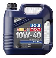 Масло Liqui Moly (ликви моли) 10w-40 Optimal полусинтетика для бензиновых и дизельных двигателей LQ 3929
