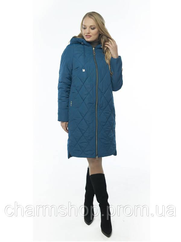 Женское демисезонное пальто батал  продажа bd6379a722a19