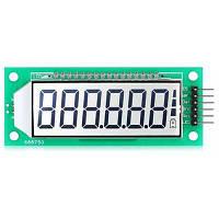 LDTR-WG0101 2,4-дюймовый 6-значный 7-сегментный LCD дисплей модуль белый свет