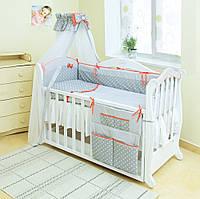 Бампер- защита на детскую кроватку Твинс Премиум (Польша)