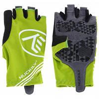 NUCKILY PC04 пара велосипедных перчаток с открытыми пальцами и гелевой прокладкой L