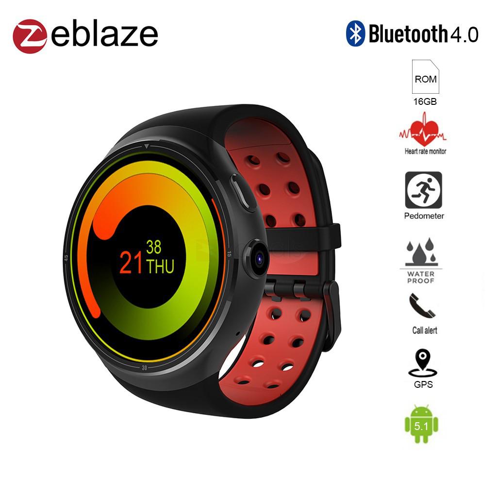 Защищенные часы-смартфон Zeblaze THOR 3G 1Gb/16Gb