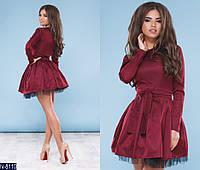 Платье  (42, 44, 46) —  мемори коттон купить оптом и в розницу в одессе  7км