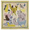 10607 платок  (батист) 10607-2, павлопосадский платок хлопковый (батистовый) с швом зиг-заг