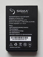 Sigma Аккумулятор (батарея) Sigma X-treme IP67, IT67 оригинал АААА +ПОДАРОК
