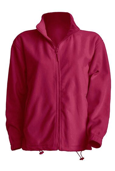 Мужская флисовая кофта JHK POLAR FLEECE MAN разные цвета и размеры Бордовый (BU), XXL