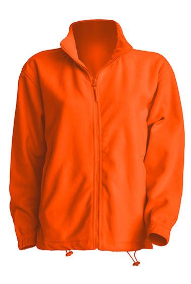 Мужская флисовая кофта JHK POLAR FLEECE MAN разные цвета и размеры Оранжевый (OR), S