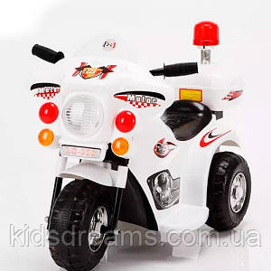 Мотоцикл Bambi M 3576-1, белый
