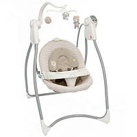 Кресло-качалка Graco LOVIN`HUG (с подключением к электросети), Benny and Bell, цвет белый с бежевым