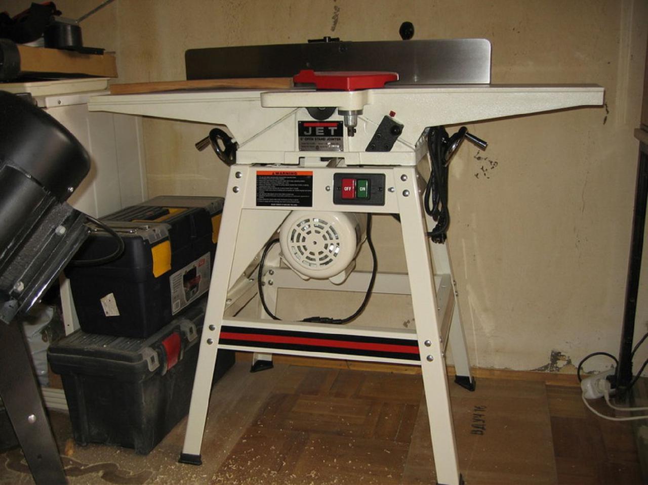 Фуговальный станок JET JJ-60S