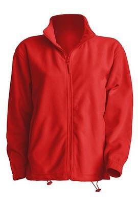 Мужская флисовая кофта JHK POLAR FLEECE MAN разные цвета и размеры Красный (RD), 3XL