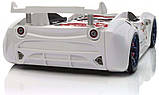 Детская кровать машинка БМВ гоночная машина красная BMW, фото 9