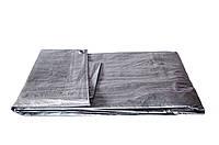 Универсальный водонепроницаемый тент-навес WELLTEX 6/8м серого цвета, фото 1