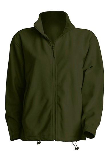 Мужская флисовая кофта JHK POLAR FLEECE MAN разные цвета и размеры Темно  зеленый (FG), M