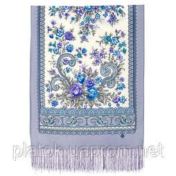 Почуття прекрасного 1767-51, павлопосадский вовняний шарф з шовковою бахромою