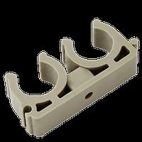 Крепление для трубы двойное д 20 Kalde (кальде)