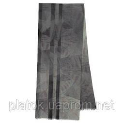 10374-1, павлопосадский шарф шерстяной с осыпкой. Стандартный сорт