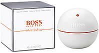 Мужской парфюм Hugo Boss Boss In Motion White Edition Tester  90ml edt (индивидуальный, стремительный, свежий)