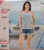 """Летняя пижама для женщин - шорты и майка """"SEXEN"""" 30276"""