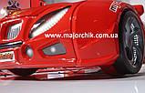 Детская кровать машинка БМВ гоночная машина красная BMW, фото 5