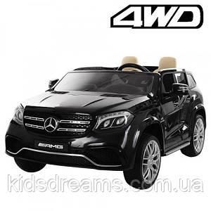 Детский электромобиль M 3565EBLR-2, Mercedes, 4 мотора, кожаное сиденье, двухместный