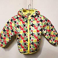 Яркая и модная весенняя курточка для маленьких девочек (от 1 до 5 лет)