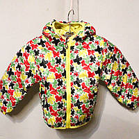 Яркая и модная осенняя курточка для маленьких девочек (от 1 до 5 лет)