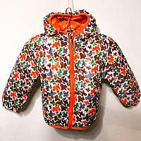 Яркая и стильная весенняя курточка для маленьких девочек (от 1 до 5 лет)
