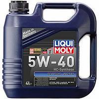 Автомасло Liqui Moly (ликви моли Оптимал Синт) 5w-40 Optimal Synth: HC синтетика для всех двигателей LQ3926