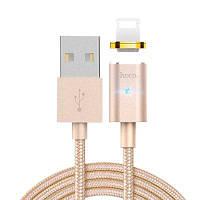 НОСО У16 магнитного 8-Контактный 2.4 a зарядки кабель для передачи данных 1,2 м Золотой