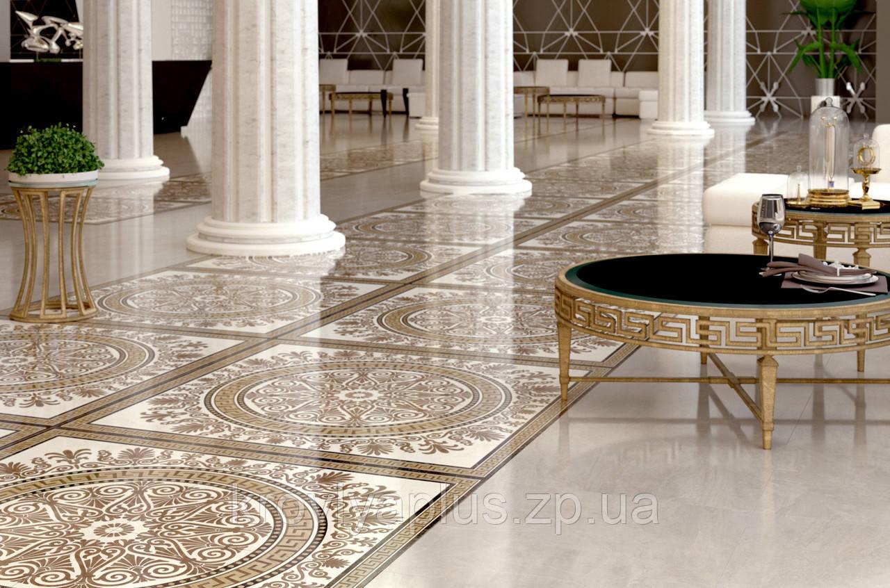 Golden Tile коллекция напольного кафеля Меандер / Meander