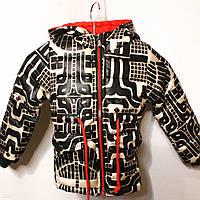 Стильная осенняя курточка для девочек от 1 до 5 лет