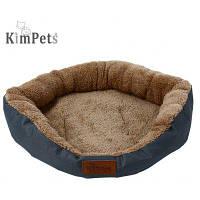 Kimpets Джинсовой Ткани Мягкого Сопротивления Воды Собака Кошка Кровать Дом XL