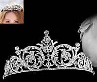 """Потрясающая серебристая  диадема """"Королевна"""" от студии LadyStyle.Biz, фото 1"""