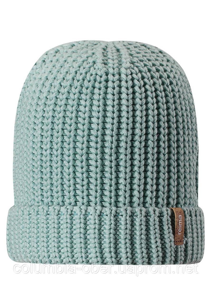 Демисезонная шапка-бини для девочек Reima Uikku 538036-8710. Размеры 52-58.