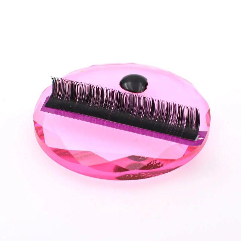 Кристалл для клея, розовый