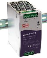 WDR-240-24, WDR-240-48 - однофазные и двухфазные источники питания Mean Well (на DIN-рейку)