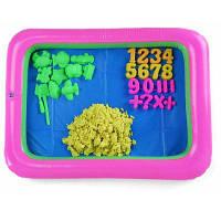 Цветной Количество Плесени Космический Песок Игрушки Жёлтый