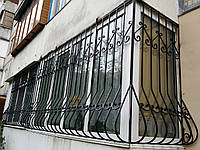 Кованая решетка для окон арт.рк4