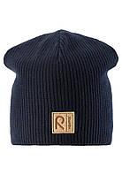 Демисезонная шапка-бини для мальчика Reima Lahti 528582-6980. Размеры 48-58.