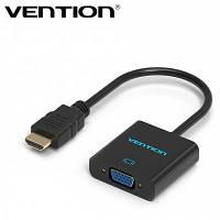 Vention HDMI для VGA конвертер кабель-адаптер Чёрный